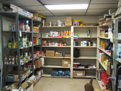 An SVDP Conference Food Pantry