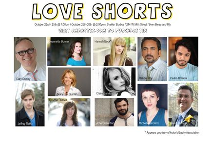 Love Shorts produced by Strange Bird Productions