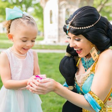 A FairyTaled Event Princesses in Nashville love to provide princess party entertainment for children