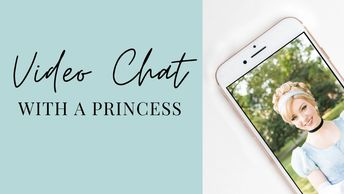 Video face time chat w/ Cinderella. Princess Parties Nashville. Things to do with kids & princesses