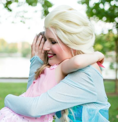 Past Disney cast member finds new mission. Bring joy to kids through princesses for birthday parties