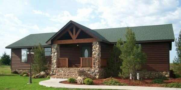 The Cabin.  A 3 bed/2 bath spacious floor plan