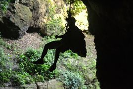 best rappelling, Utuado, Puerto Rico. Tanama eco tours and adventures. Cave, caverns