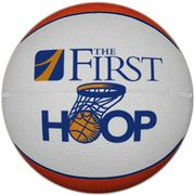 Custom rubber and synthetic leather basketballs with your printed logo.