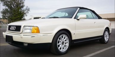 1996 Audi Cabriolet... a very nice ride. 1-866-867-1995