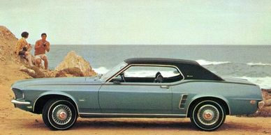 The 1969 Mustang with a vinyl top and a 302 engine... what's not to love? 1-866-867-1995