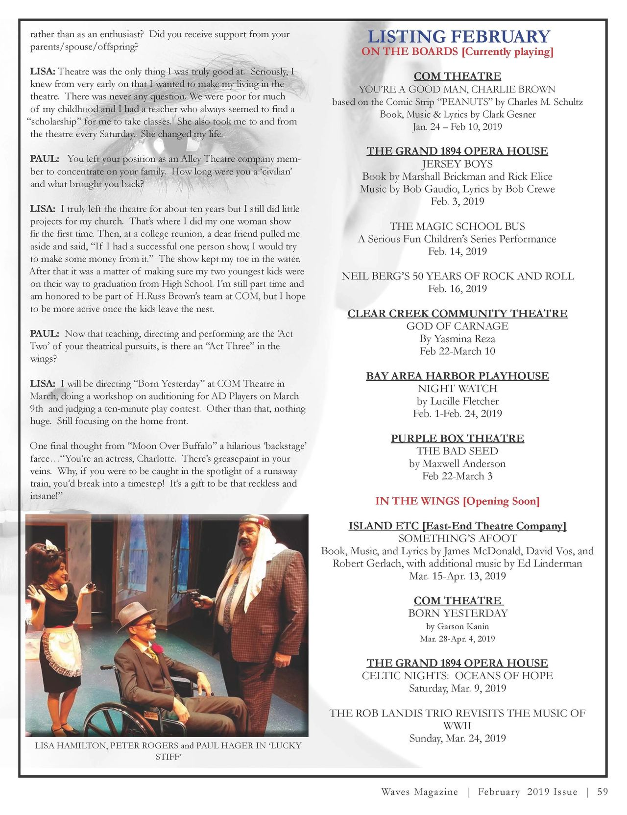 """Curtain Going Up 