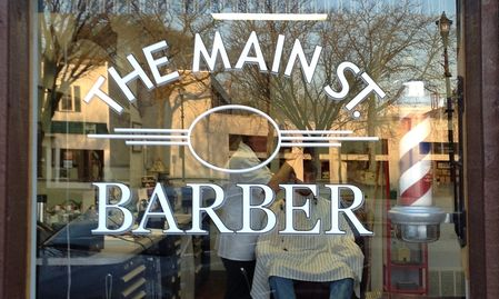 The Main Street Barber Shop, 88 S. Main Street, Oberlin, OH 44074, Mark Cooley, Owner/Barber