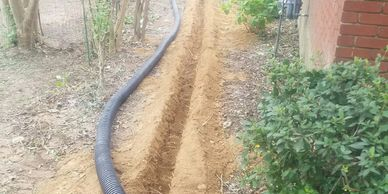 Landscape drainage systems have been part of our in-house work since 1982.