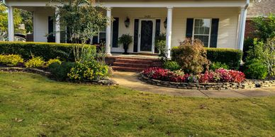 Landscape design, installation, irrigation (since 1986), and maintenance services for over 38 years.