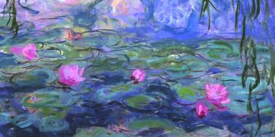 "Claude Monet ""Water Lilies"" 1916-19"