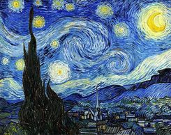 "Vincent Van Gogh ""Starry Night"" 1889"