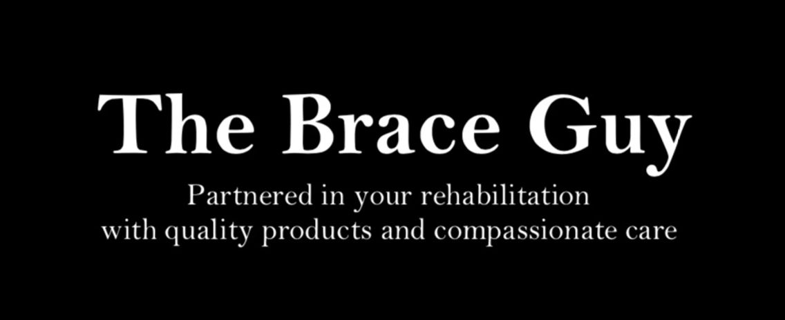 68da72b45fc The Brace Guy has years of experience providing braces and supports to the  general public