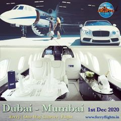 Air Charter Service  Ferry Empty Leg One way charter Flight Services from dubai to mumbai