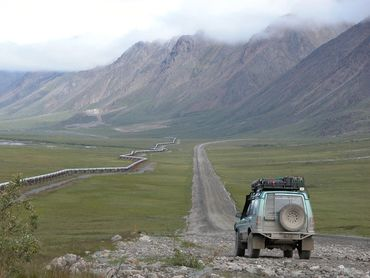 Expedition Exchange alan stuart north by rover alaska land rover discovery expedition overlanding