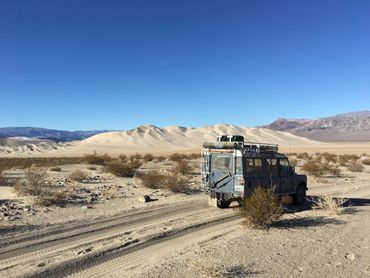Expedition Exchange paul von klosst-dohna death valley land rover series iii 109 station wagon 4x4