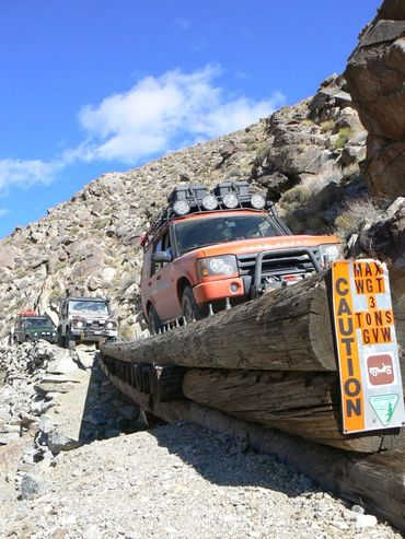 Ho Chung's Land Rover Discovery II G4 Challenge Expedition Exchange Pleasant Canyon Death Valley 4x4