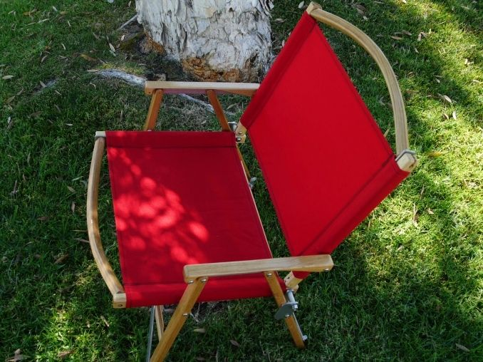 "Red Kermit Chair 11.5"" height 5.3 lbs. weight lounger arm rests comfortable seating lounge chair"