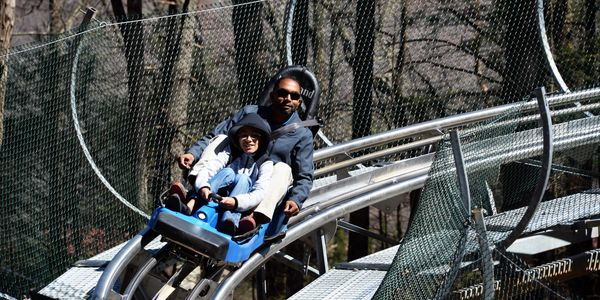 Georgia Mountain Coaster in Helen GA