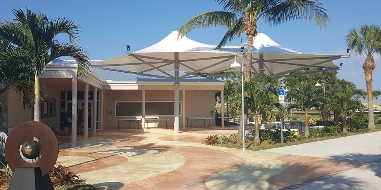 Tensioned Fabric Canopy