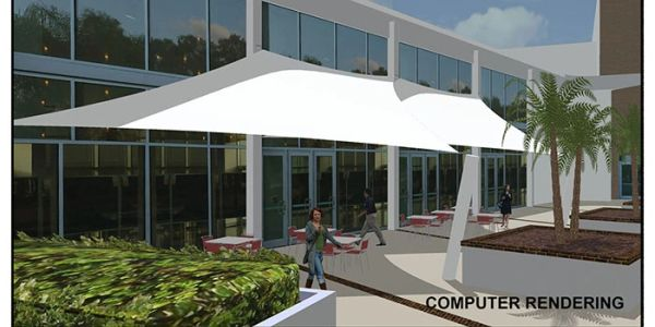 Shade Sails Rendering