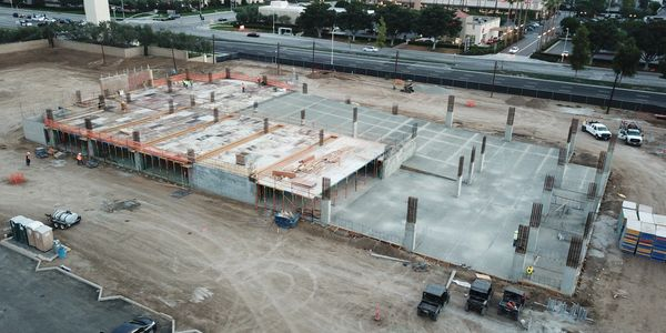 Silverline Construction Inc. On-grade Parking Structure