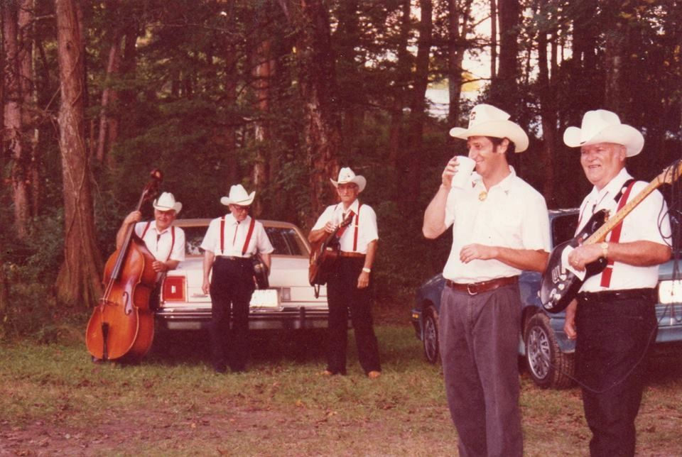 The Hackberry Ramblers at Abita Springs, LA, 1992
