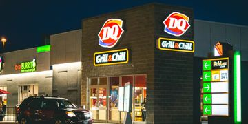 Dairy Queen located at Northgate Shopping Centre, Winnipeg