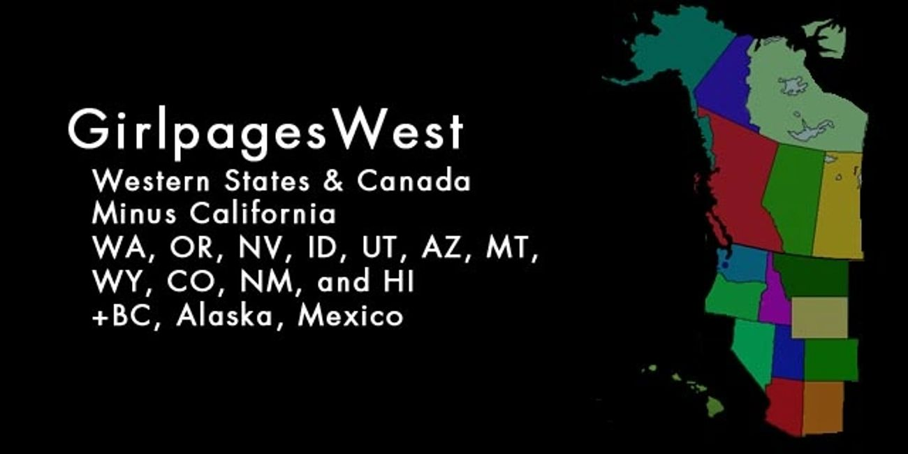 Queergirl events every state on the west coast +West Canad, Hawaii  minus (see NorCal and Socal)