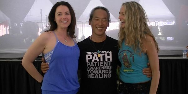 Samantha with Rodney Yee and his wife
