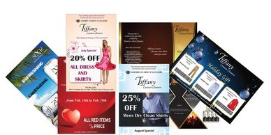 Flyers Graphic Design, brochures, postcards, posters, direct mail, banner graphic design
