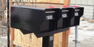 Resistant Heavy Duty Mailboxes from Steel Mailbox Company