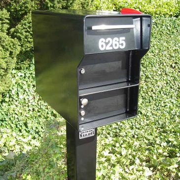 Fort Knox Mailbox from Steel Mailbox Company