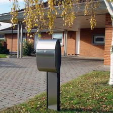 Locking Allux Mailbox from Steel Mailbox Company