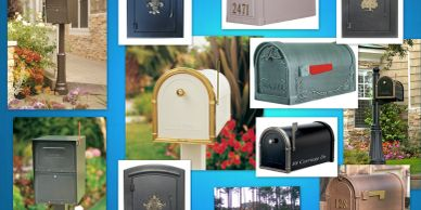 Secure Mailboxes from Steel Mailbox company