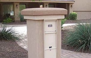 Letter Locker Mailbox - Supreme from Steel Mailbox Company