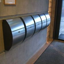 Allux Locking Mailbox from Steel Mailbox Company