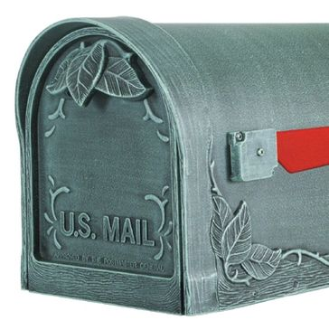 Floral Premium Mialbox from Steel Mailbox Company