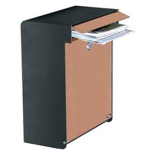 Allux Wall Mount Mailbox from Steel Mailbox Company