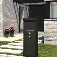 Allux Commercial Mailbox from Steel Mailbox Company