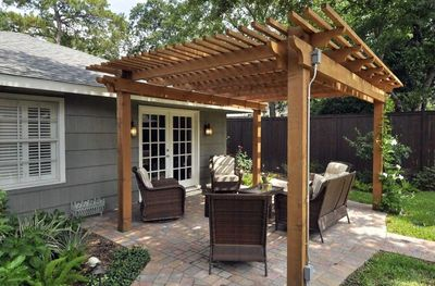 Arden Fence Amp Outdoor Creations Pergolas And Arbors