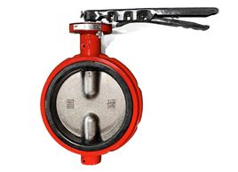 butterfly valve hand lever