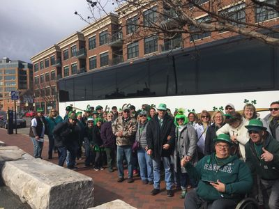 What better way to spend St. Patricks Day? 2018 Fells Point.