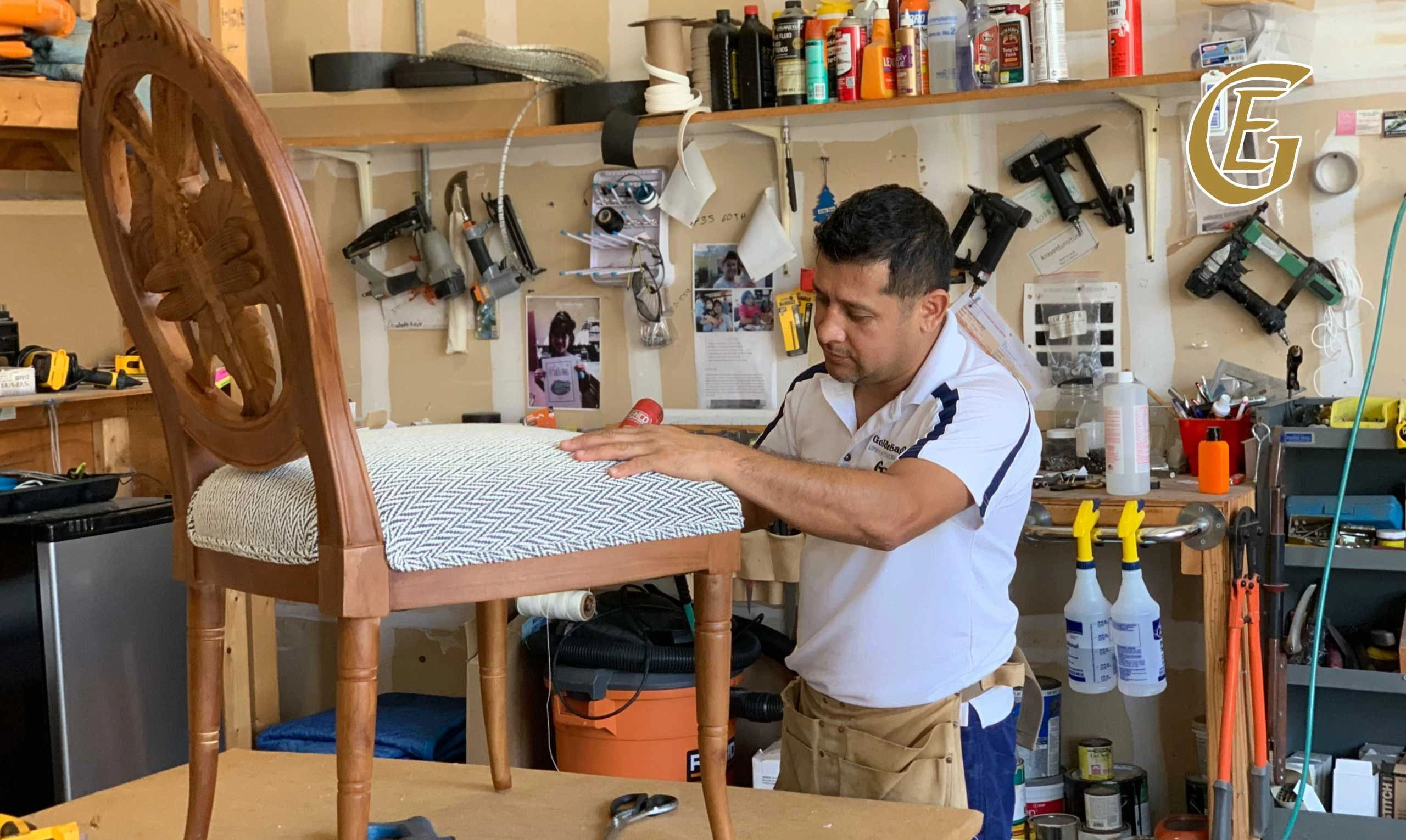 "Edgar Montes says: "" let me make your  furniture look brand new again"""