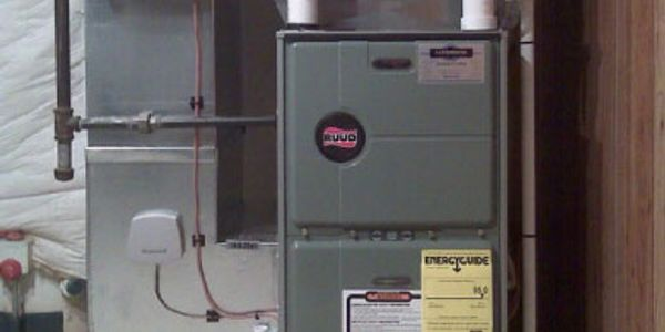 Gas Electric Furnace Installation