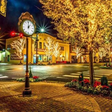 Downtown Fairhope, Alabama.  Photo Credit: Jake Pose.