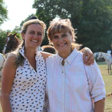 Picture of our founders Vicky and Betsy