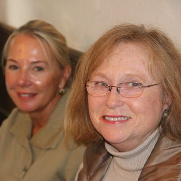 Picture of Patti and Roxann.