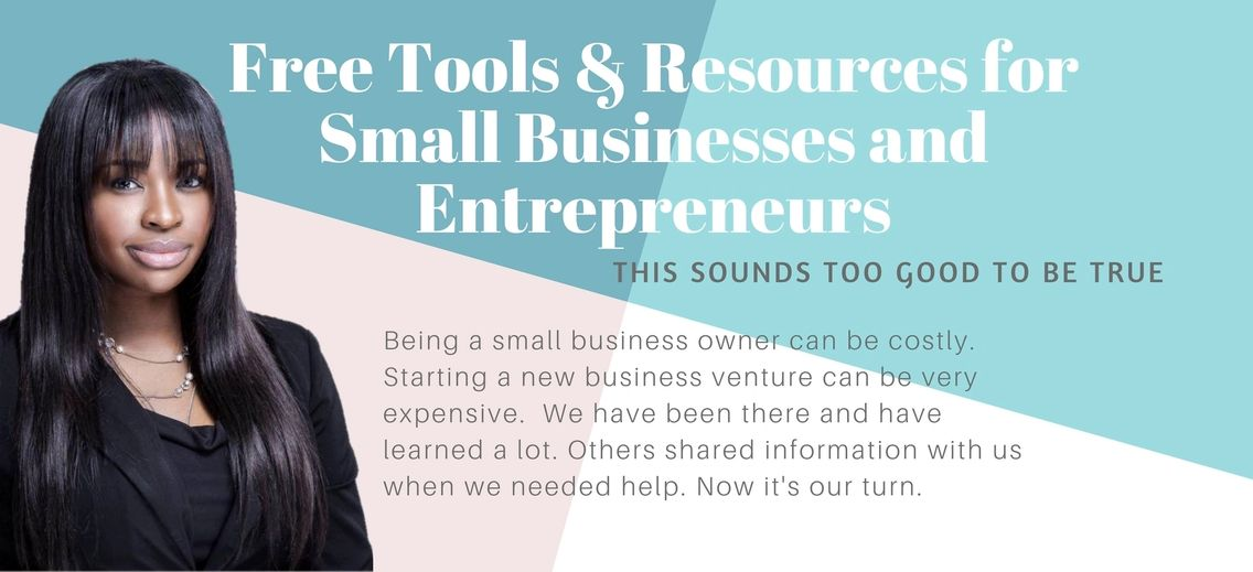FREE Resources & Tools for Small Businesses & Entrepreneurs