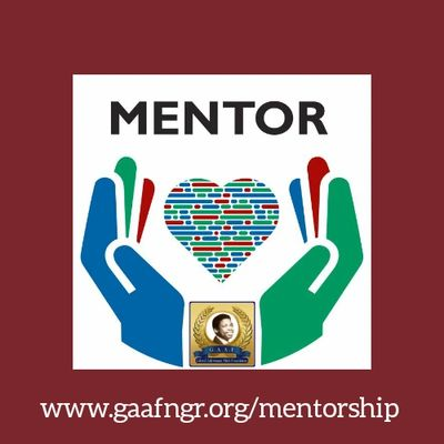 GAAF is calling on people at home and abroad to volunteer as MENTORS